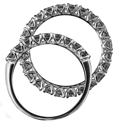 2lips Eternity rings