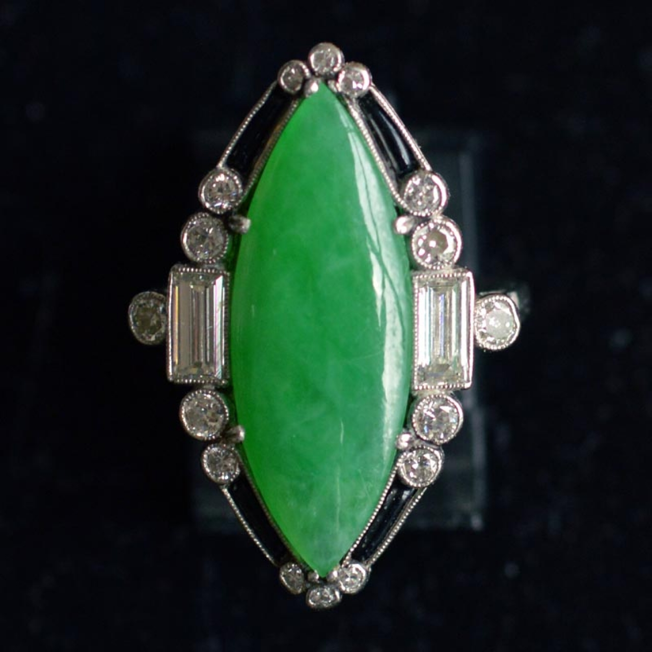 gold ebay diamond catswhisker green man collection grams cln s rings ring jade on appraisal