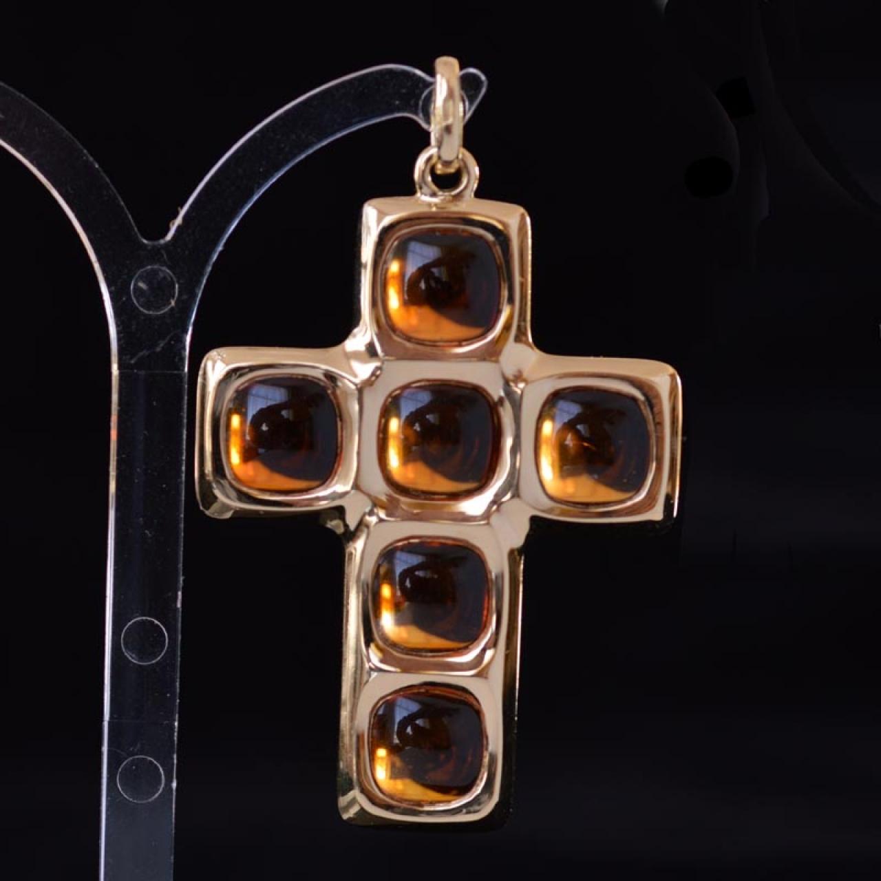 Pomellato cross pendant pomellato 18k yellow gold cross pendant with pomellato cross pendant aloadofball Gallery