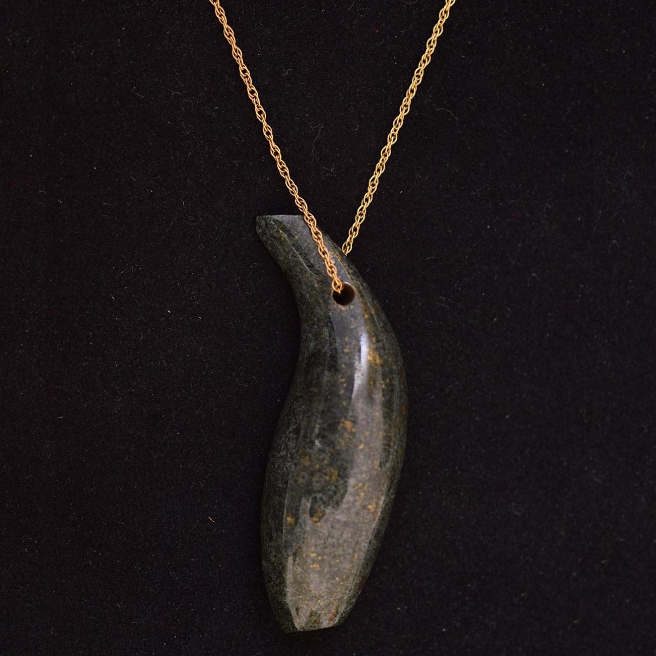 Jade fish necklace tiffany pouchcklace length 44 cm rocks and jade fish necklace tiffany co frank gehry aloadofball Choice Image