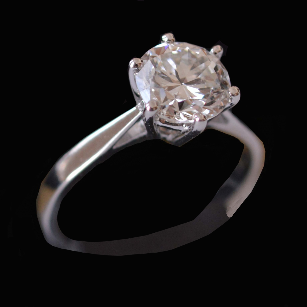 1.83 ct diamond engagement ring