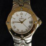 ebel-sportwave-steel-gold-ladies-watch-one-year-warranty