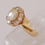genuine-orient-pearl-ring-set-with-ten-old-mine-cut-diamonds