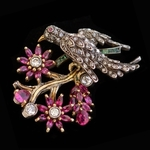 antique-flower-brooch