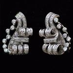 diamond-1940s-platinum-earrings