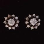 vintage-rose-cut-diamond-ear-studs