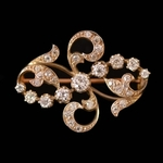 french-art-nouveau-old-mine-diamond-platinum-gold-brooch