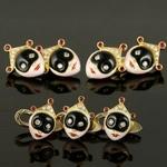 18k-gold-italian-dress-set-gold-cufflinks-studs-diamonds-rubies-multicolored-enamel-onyx-masks