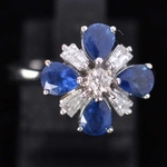 attractive-sapphire-and-diamond-ring