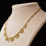 antique-french-gold-filigree-necklace