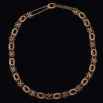 antique-garnet-pearl-gold-filigree-necklace