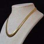 solid-yellow-gold-curb-link-necklace