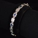 vintage-18k-white-gold-sapphire-bracelet