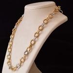 bi-colour-gold-cable-chain-necklace