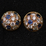 vintage-cartier-diamond-sapphire-stud-earrings