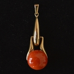 amsterdamse-school-antique-gold-coral-pendant