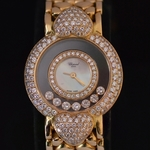 18-carat-gold-mother-of-pearl-dial-and-diamond-chopard-bracelet-wrist-watch-ref-379766