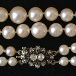 two-strands-akoya-pearl-necklace-gold-rose-cut-diamonds