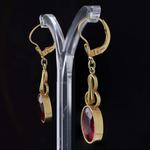 verneuil-ruby-art-deco-pendant-earrings