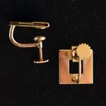 tiffany-textured-gold-retro-style-vintage-screw-earclips-earpendants