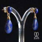 18k-gold-2lips-colours-lapis-lazuli-earrings-design-david-aardewerk